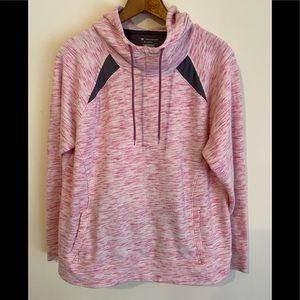 Women's Pink/Gray Hoodie XL